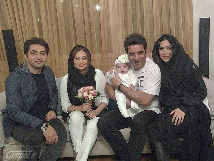 عکی های یکتا ناصر همراه با دخترش
